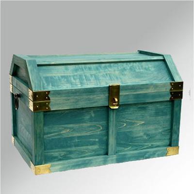 蒼い海をイメージした海賊宝箱(トレジャーボックス)