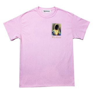 WHO CARES Tee (LIGHT PINK)