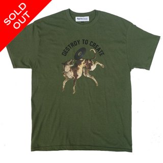 Flying Disc Tee(MILITARY GREEN)