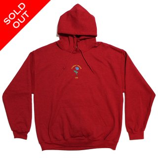 BLUEROSE Hoodie (ANTIQUE CHERY RED)