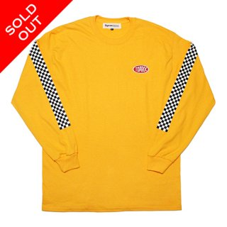 RACER L/S Tee (GOLD)