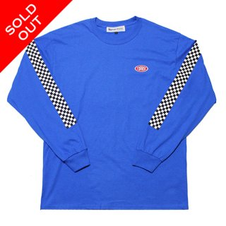 RACER L/S Tee (ROYAL)