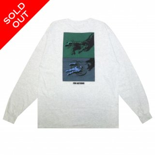 FOR NOTHING L/S Tee (ASH)
