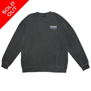 <img class='new_mark_img1' src='//img.shop-pro.jp/img/new/icons5.gif' style='border:none;display:inline;margin:0px;padding:0px;width:auto;' />Fade logo Sweat shirt (PIGMENT BLACK)