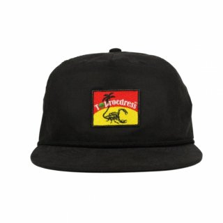 Scorpion-Logo Patch cap (BLACK)