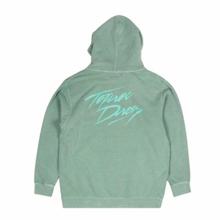 Brush-logo Wash Hoodie (MINT)