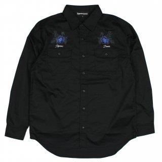 BlueRose Workshirt (BLACK)