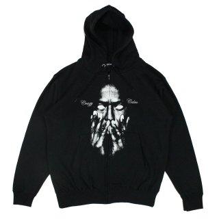 CrazyCalm Zip hoodie (BLACK)
