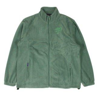 Relax-logo Fleece jacket (DILL)