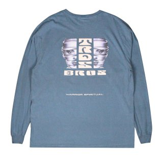 <img class='new_mark_img1' src='https://img.shop-pro.jp/img/new/icons5.gif' style='border:none;display:inline;margin:0px;padding:0px;width:auto;' />Warrior spiritual L/S Tee (BLUE JEAN)