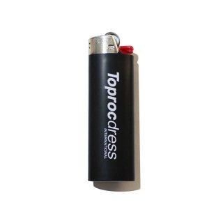 TEXT LOGO Lighter (BLACK)