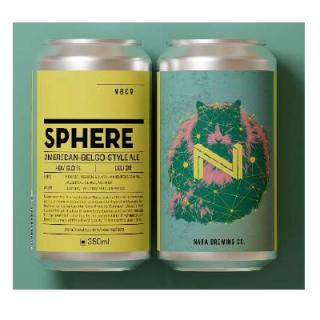 奈良醸造 季節限定商品「SPHERE」350ML缶