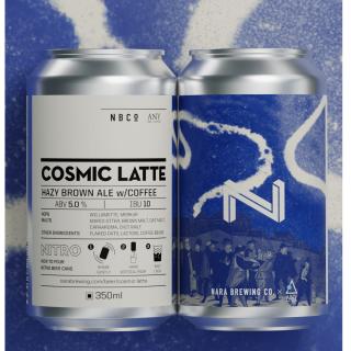 奈良醸造 限定商品「COSMIC LATTE」350ML缶
