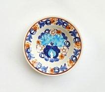 wl010 ポーランドのヴウォツワヴェク陶器 ヴィンテージ陶器 小皿15cm 飾り皿