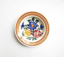 wl039 ポーランドのヴウォツワヴェク陶器 ヴィンテージ陶器 小皿15cm  飾り皿
