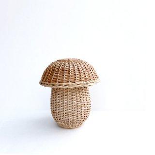 bs004 リトアニアのかご 柳でできた小さなキノコの入れもの 手編みカゴ かご カゴ 籠