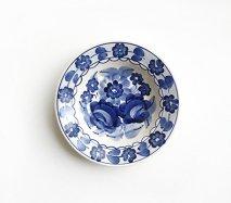 wl044 ポーランドのヴウォツワヴェク陶器 ヴィンテージ陶器 小皿15cm  飾り皿