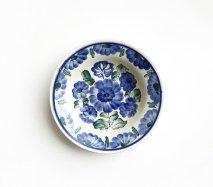 wl045 ポーランドのヴウォツワヴェク陶器 ヴィンテージ陶器 小皿15cm  飾り皿