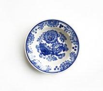 wl048 ポーランドのヴウォツワヴェク陶器 ヴィンテージ陶器 小皿15cm  飾り皿