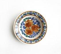 wl052 ポーランドのヴウォツワヴェク陶器 ヴィンテージ陶器 小皿15cm  飾り皿