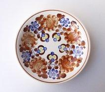 wl063 ポーランドのヴウォツワヴェク陶器 ヴィンテージ陶器 パスタ皿24cm  飾り皿