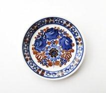 wl082 ポーランドのヴウォツワヴェク陶器 ヴィンテージ陶器 平皿19cm  飾り皿