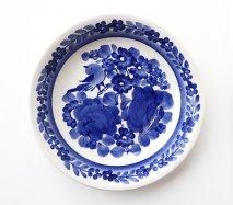 wl091 ポーランドのヴウォツワヴェク陶器 ヴィンテージ陶器 平皿24cm 飾り皿
