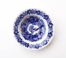wl112 ポーランドのヴウォツワヴェク陶器 ヴィンテージ陶器 中皿17.5cm 飾り皿
