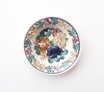 wl113 ポーランドのヴウォツワヴェク陶器 ヴィンテージ陶器 小皿15cm 飾り皿