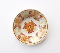 wl117 ポーランドのヴウォツワヴェク陶器 ヴィンテージ陶器 小皿15cm 飾り皿