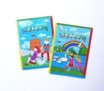リトアニアの塗り絵ブック カラーブック 絵本