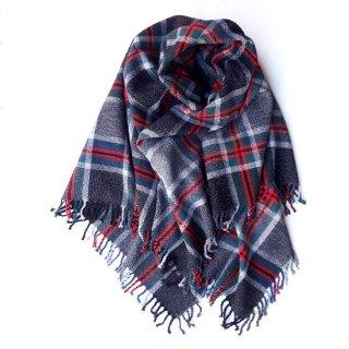 リトアニア 厚みのあるしっかりとした手織りのビッグストール