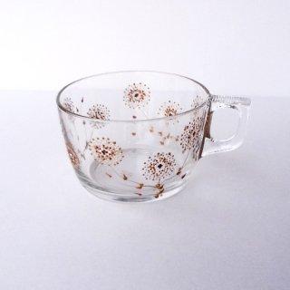 gc002 リトアニア グラスペイントのガラスカップ
