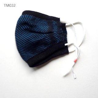 手織りリネンマスク 暖かみのあるマスク マスクカバーとしても 濃色リネンタイプ TM032-038