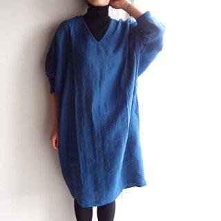 ofo024 たっぷり袖が女性らしいコクーンワンピース