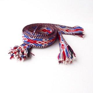 リトアニア 手織りベルト ブーツ用の短いタイプ