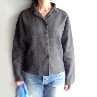 edt025 コンパクトなサイズ感 ロングスリーブの開襟シャツ