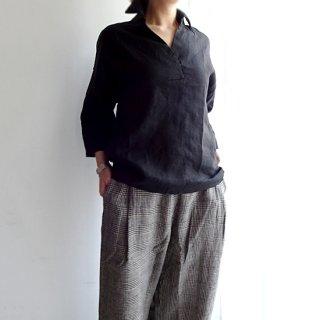 id007 大人のリラックス感 スキッパーカラーシャツ