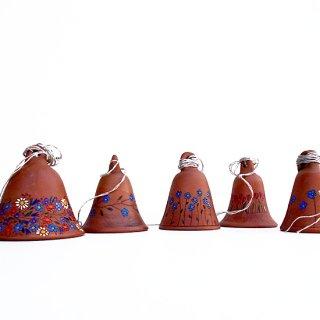 rgn025 リトアニア Reginaさんの黒陶器 ブラックセラミック 小さなベル