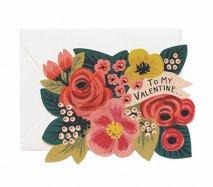 アメリカRifle Paper バレンタインカード To My Valentine(マイ・バレンタイン)