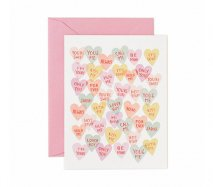 アメリカRifle Paper グリーティングカード ハートがいっぱい バレンタインにも