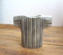 リサ・ラーソン Lisa Larson ワードローブシリーズ セーターの形をした花瓶