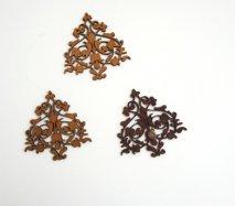 or029 リトアニア EtnoDesign 木製オーナメント シークレットガーデン 秘密の花園