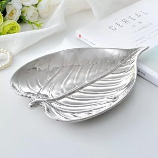 シルバーリーフ皿