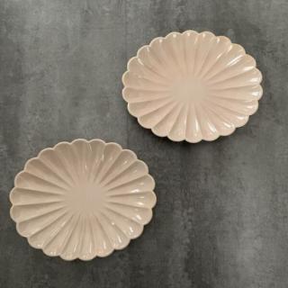 ブロッサム 6.5楕円皿