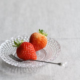 ビードガラス小皿