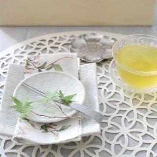 白結晶白丸3寸皿