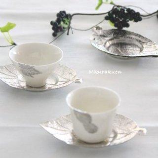 錫モチーフ茶器