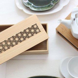 麻の葉 細密箱