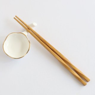 竹製ねじり箸